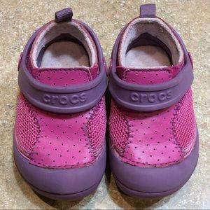 CROCS PINK BABY CLOGS